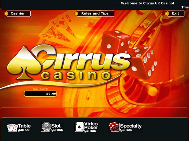 Casino cirrus casino del sol bingo times