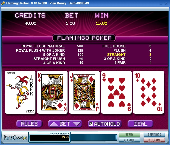 online casino video poker book of rar