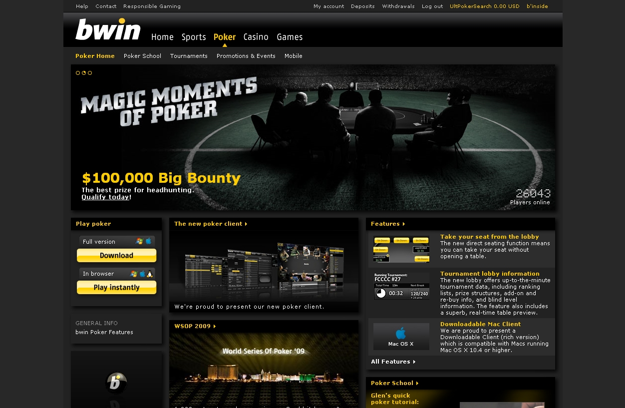 bwin full website