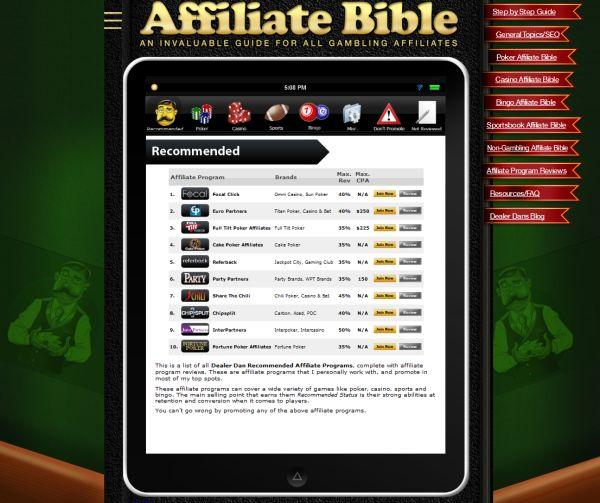 affiliate program reviews