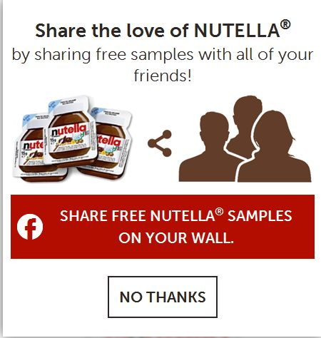 nutella-contest